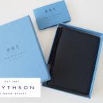 スマイソン|SMYTHSON|SOHOノートブック|ミドルサイズノート|ブラック