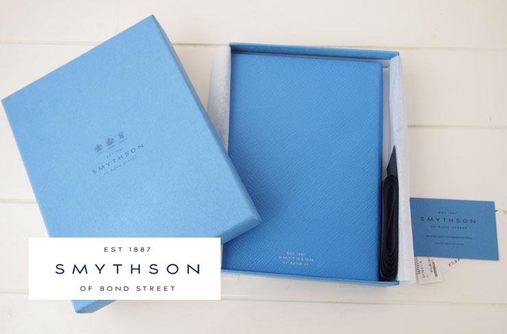 <スマイソン|SMYTHSON>SOHOノートナイルブルーイメージ