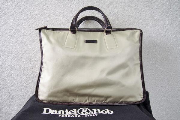 ダニエル&ボブ|Daniel & Bob|BEYES別注|ビジネスバッグ|レザー ナイロンブリーフケースイメージ