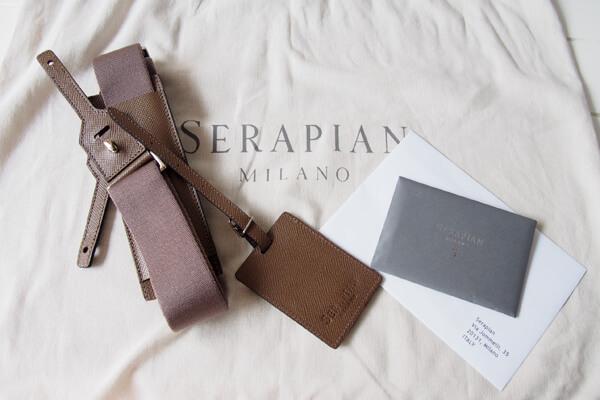 セラピアン|Serapian|2WAYオレッキアブリーフケースイメージ03