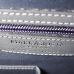 マーク・ジュスティ|MARK/GIUSTI|ショルダーストラップ付き2WAYトートバッグ|ネイビー×グレーイメージ04
