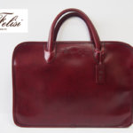 <フェリージ|Felisi>ビジネスバッグ|ブリーフケース|1996/A+DS191|レザー×ナイロン|ワイン