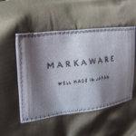 マーカウェア|MARKAWARE|チェスターフィールドコートイメージ04