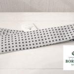 <ルイジボレッリ|LUIGI BORRELLI>シルク小紋ネクタイ