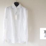 <hitoyoshi|ヒトヨシ>リネンラウンドカラーシャツメインイメージ