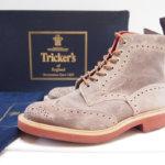 トリッカーズ|Tricker's|カントリーブーツ M2508 waxy calf champagne|7
