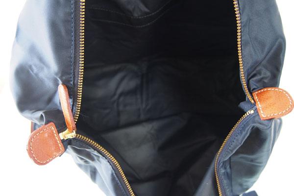 <フェリージ|Felisi>パッカブルトートバッグ(ネイビー×ブラウン)サブイメージ013
