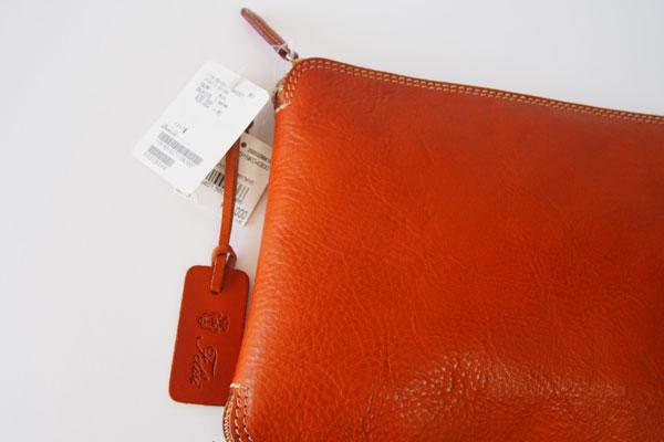 <フェリージ|Felisi>パッカブルトートバッグ(ネイビー×ブラウン)サブイメージ02
