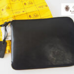 <フェリージ|Felisi>ナイロン×レザーパッカブルトートバッグ|9542/1-DS+NK|ブラック