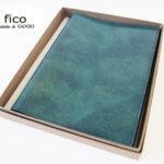 フィ―コ|fico|LUDICO|ブックカバー|ブルーグリーン
