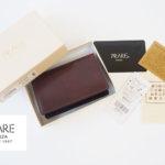 プレリー|PRARE GINZA|カードケース|ホーウィン社|シェルコードバン|コードヴァン×牛革