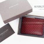 マーク・ジュスティ|MARK/GIUSTI|メンズ レザー カードケースP-031 MGE/300イメージ01