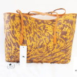 イルミーチョ|ilmicio|マーブルプリント|レザートートバッグ