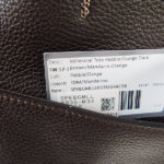 セラピアンミラノ|Serapian |カーフレザー クラッチ内臓 トートバッグ| Pebble/Gange SPEBGMLL6935-M34(ブラウン)イメージ012