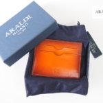 アラルディ|ARALDI 1930|カードケース|HONEY|ライトブラウン イメージ01