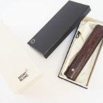 モンブラン|MONTBLANC|マイスターシュテュックコレクション|Meisterstck 1本差しケース|1 Pen Pouch Hard|イタリア製 イメージ01