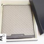 モンブラン|MONTBLANC|レザーケース付きノートブック|Montblanc 111114|Signature Mediumブラウンレザー&ファブリック手帳 イメージ01