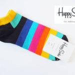 ハッピーソックス|happy socks|ショート丈カジュアルソックス|マルチボーダー イメージ01