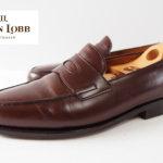 【中古】ジョンロブ|John Lobb|定番ローファーシューズ|ロペス|LOPEZ|6E|ダークブラウン|革靴