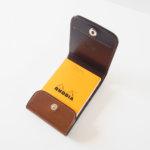 ワイルドスワンズ|WILDSWANS|特別生産品・シェルコードバンシリーズ|メモカバー・コードバン×型押サドルVISTA-S|ブラウンイメージ03