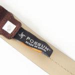 ポッシュム POSSUM スエードベルト(ブラウン×グリーン)イメージ07