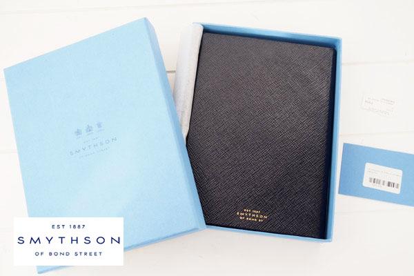 スマイソン|SMYTHSON|SOHOノートブック|ミドルサイズノート|ネイビーイメージ01