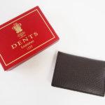 デンツ|DENTS|カードケース|名刺入れ|グレインレザー|ダークブラウンイメージ03