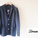 ドルモア|Drumohr|リネンニットジャケット|ネイビーイメージ01