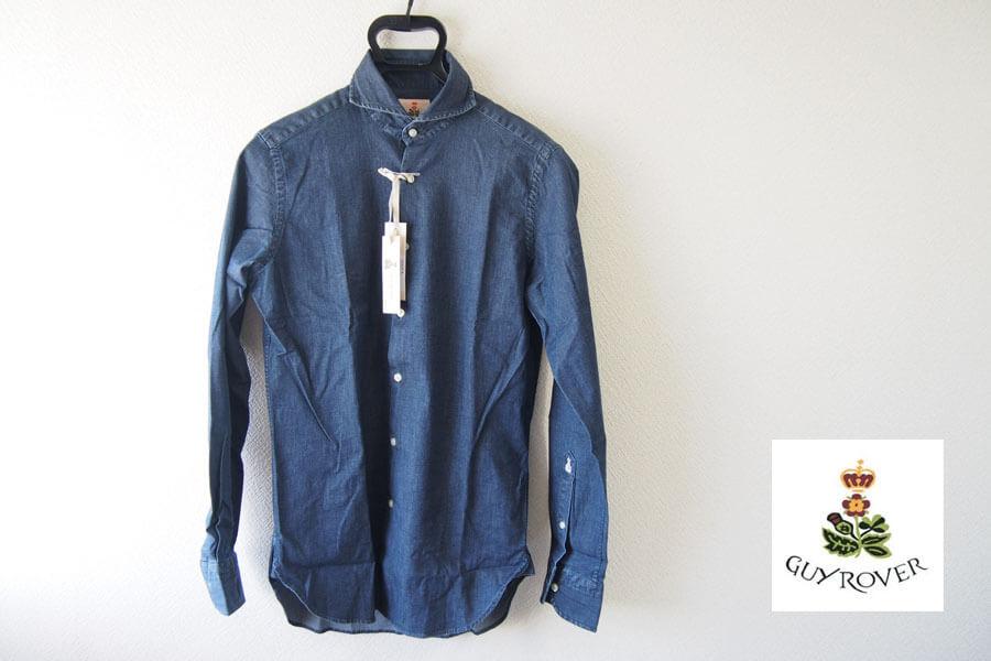 ギローバー|GUY ROVER|ワイドカラーダンガリーシャツ|Sイメージ01