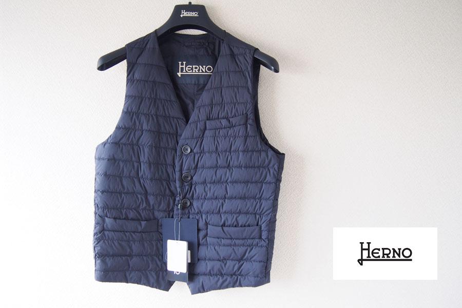 ヘルノ|HERNO|インナーダウン|ジレ|ダウンベスト|PC0039U 19288|ネイビーイメージ01