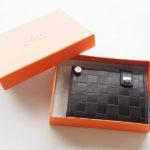 博庵|ヒロアン|HIROAN|コードバン|カードケース|市松模様イメージ01