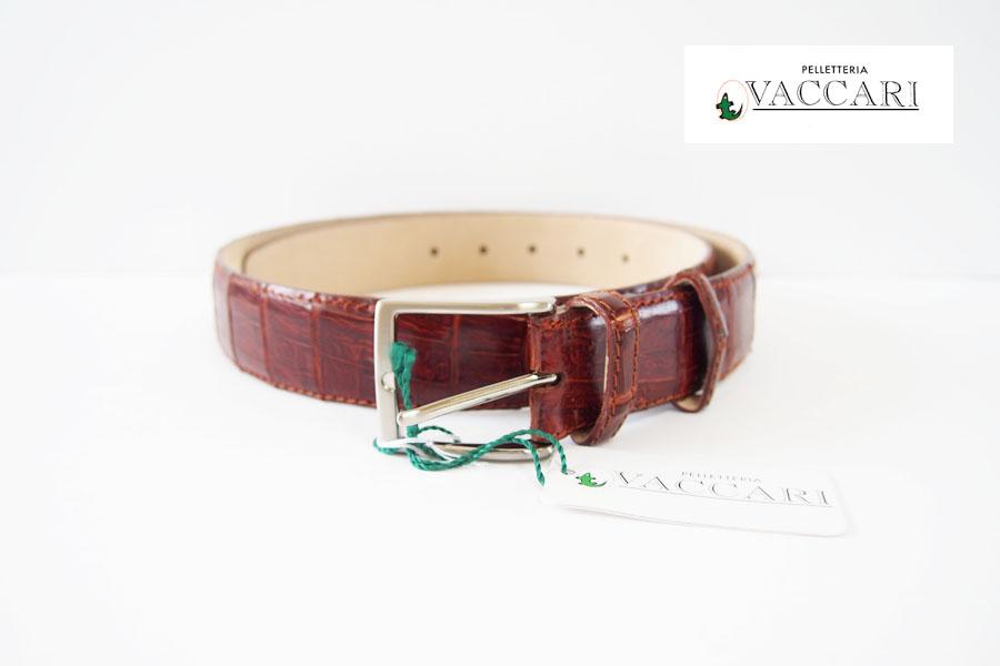 バッカーリ|VACCARI|イタリア製|カイマンレザーベルトイメージ01