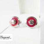 エス・テー・デュポン|S.T. Dupont|カフス|JETONコレクション|ジェットオン|リバーシブルカフリンクス|レッドイメージ01