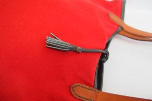 エンリーべグリン|HENRY BEGUELIN|オミノ刺繍入りキャンバス×レザートートバッグイメージ06