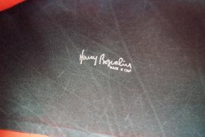 エンリーべグリン|HENRY BEGUELIN|オミノ刺繍入りキャンバス×レザートートバッグイメージ02