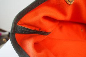 エンリーべグリン HENRY BEGUELIN オミノ刺繍入りキャンバス×レザートートバッグイメージ05