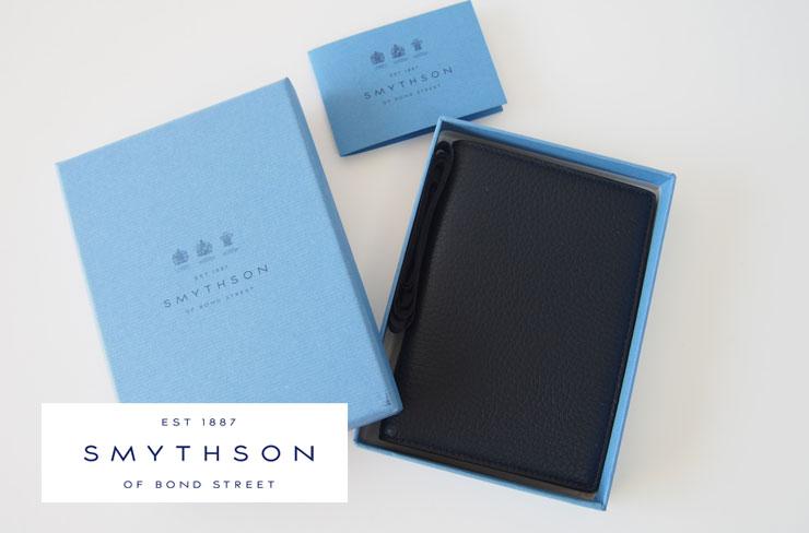 <スマイソン|SMYTHSON>SOHOノートブラックイメージ