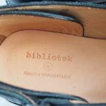 ビブリオテック|bibliotek|レザースリッポンイメージ05