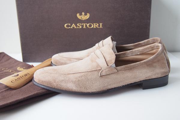 カストーリ|CASTORI|スエードローファーCASHMERE SUEDE LOAFER CASTORI-SMDE 125|38メインイメージ