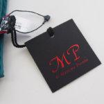 マッシモピオンボ|Mp Massimo Piombo|プリントシルクスカーフ|ネイビー×グリーンイメージ01