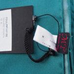 マッシモピオンボ|Mp Massimo Piombo|プリントシルクスカーフ|ネイビー×グリーンイメージ02