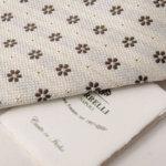 ルイジボレッリ|LUIGI BORRELLI|シルクフラワー柄ネクタイイメージ01