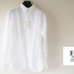 <ヒトヨシ>ボタンダウンリネンシャツ