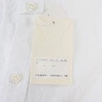 <ヒトヨシ>ラウンドカラーリネンシャツサブイメージ08