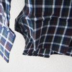<ステファノコンティ>チェック柄コットンシャツ(グリーン×ブラウン)サブイメージ02