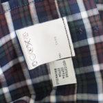 <ステファノコンティ>チェック柄コットンシャツ(グリーン×ブラウン)サブイメージ07