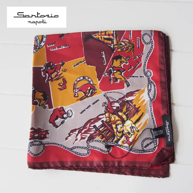 サルトリオ ポケットチーフ メインイメージ