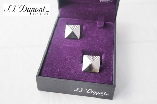 エス・テー・デュポン|S.T. Dupont|カフス(ピラミッドパラディウム) メインイメージ