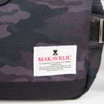 マキャベリック|MAKAVELIC|ボディバッグ|ウエストバッグ 3105-10301|TRUCKS WAIST BAG |SHDMUL/BK|カモフラ柄イメージ02