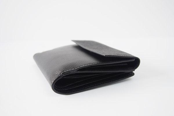 ソメスサドル|SOMES SADDLE|グレインレザー2つ折り財布|ブラックイメージ010